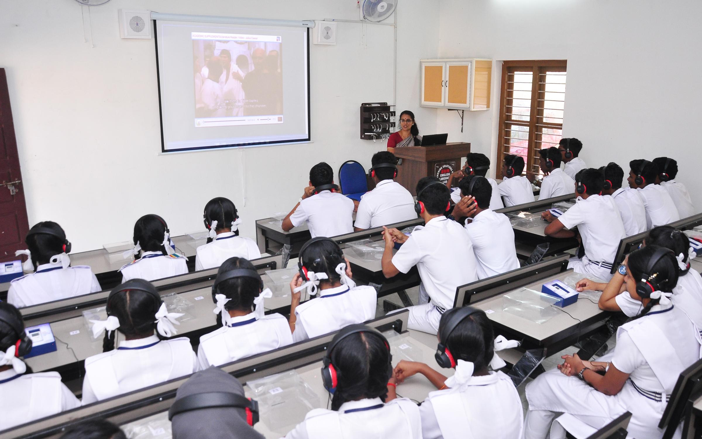 CENTARL SCHOOL LANGUAGE LAB