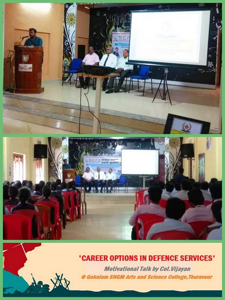 CAREER OPTIONS IN DEFENCE SERVICES