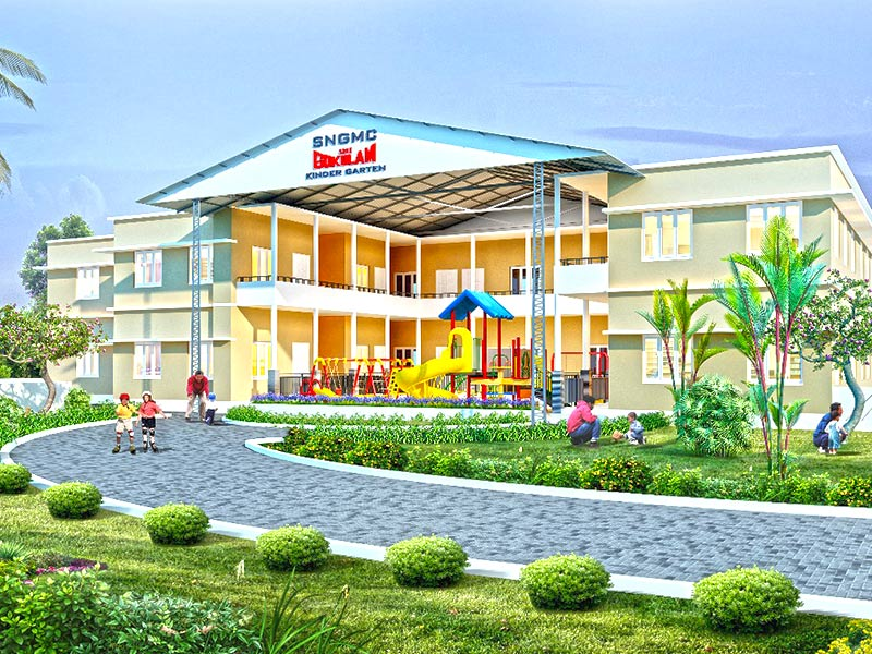 Fully air conditioned Play School & Kindergarten